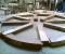 Restauration d'une roue type Poncelet - En atelier 5