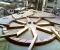 Restauration d'une roue type Poncelet - En atelier 6