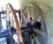 Restauration d'une roue type Poncelet - Montage de la structure 9