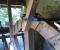 Restauration d'une roue type Poncelet - Montage des coyaux et des aubes 1