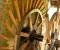 Restauration d'une roue type Poncelet - Montage des coyaux et des aubes 9