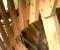 Restauration d'une roue type Poncelet - Montage des coyaux et des aubes 11